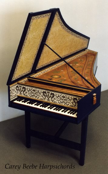 Flemish Single Harpsichord 53K jpeg