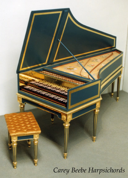 CBH Hire Instrument Specifications — French Double Harpsichord