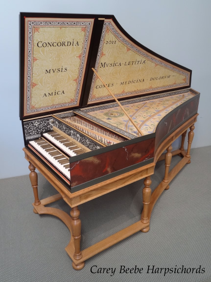 Cbh Custom Instrument Gallery Ruckers Double Harpsichord