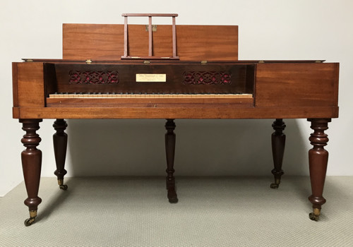 1842 John Broadwood and Sons square pianoforte 41K jpeg