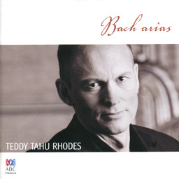 The Bach Arias — Teddy Tahu Rhodes CD cover 16K jpeg