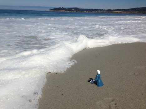 #TinyBach at Carmel beach 44K jpeg