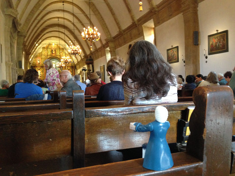 #TinyBach in Carmel Mission 65K jpeg